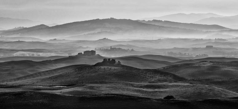 Volterra - le colline